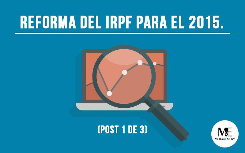 reforma del irpf para 2015