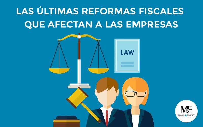 reformas fiscales empresas