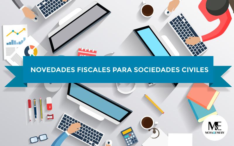 novedades fiscales sociedades civiles