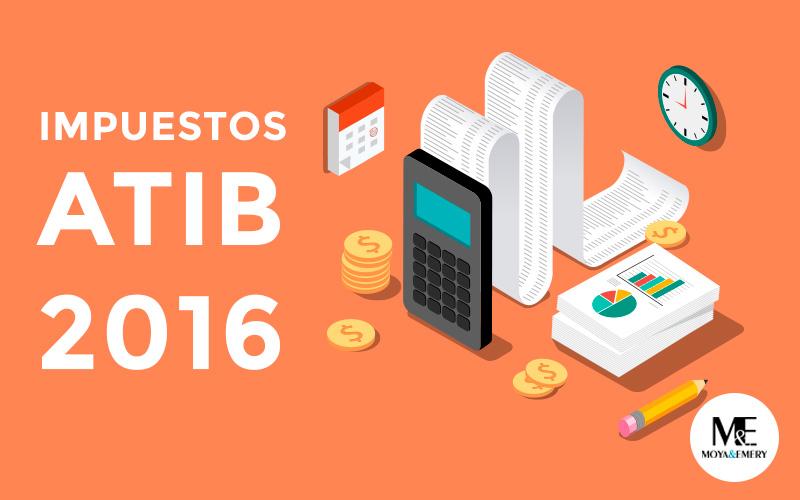 impuestos atib 2016