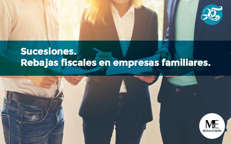 rebajas fiscales empresas familiares