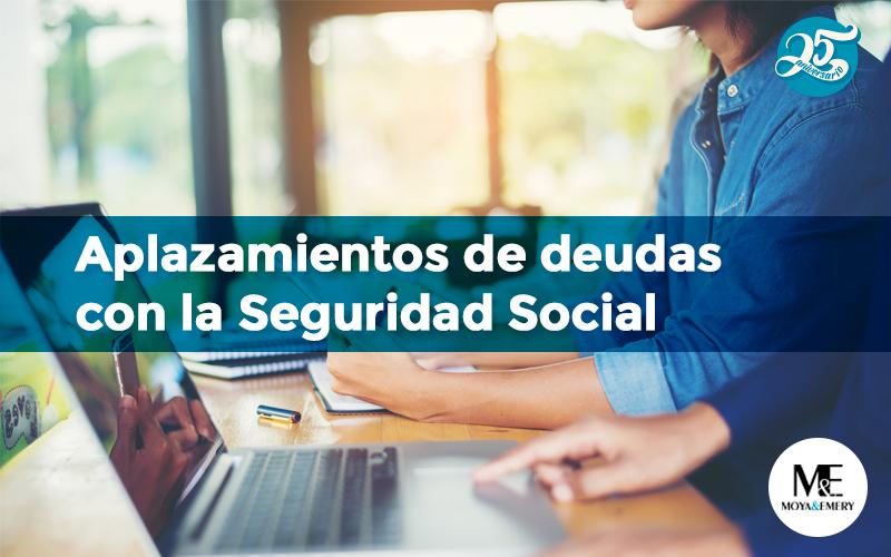 aplazamiento seguridad social